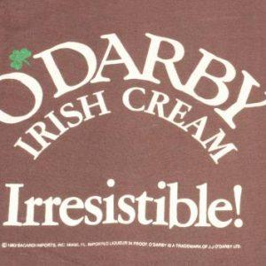 Vintage 1983 O Darby Irish Cream Brown T-Shirt