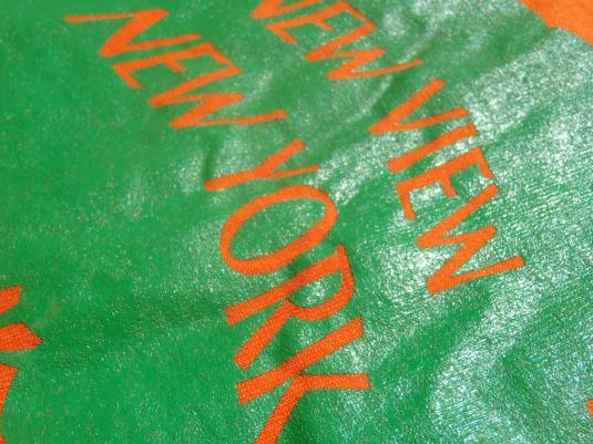 Vintage 1990s New York Green Team Orange T-Shirt XL