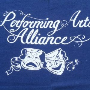 Vintage 1980s Performing Arts Alliance Navy Blue T Shirt M