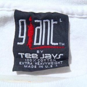 Vintage 1991 Paul Simon Concert Tour White T-Shirt XL