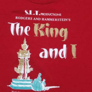 Vintage 1990s The King and I Red T Shirt L