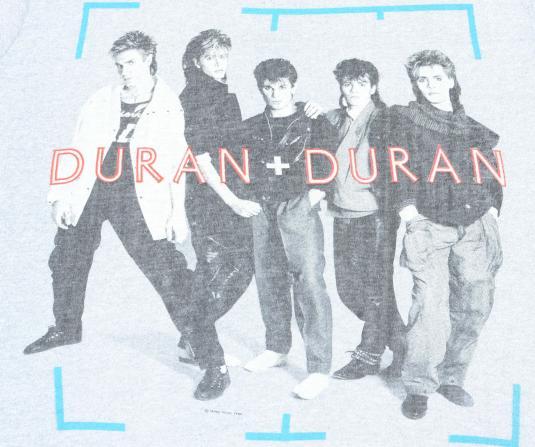 Vintage 1984 Duran Duran Wild Boys Concert Tour Gray T Shirt