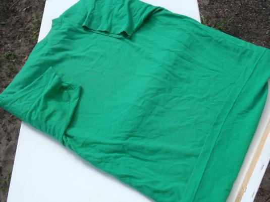 Vintage 1980s Hard to Be Humble Irish Green T Shirt L
