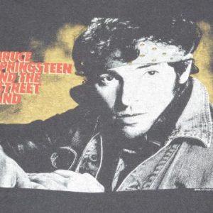 Vintage 1984 Bruce Springsteen Concert Tour Black T Shirt M
