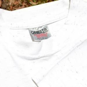 Vintage 1991 Chatooga River Heather Gray Cotton T Shirt XL/L
