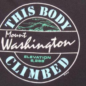 Vintage 1987 Mount Washington Souvenir T Shirt M/L