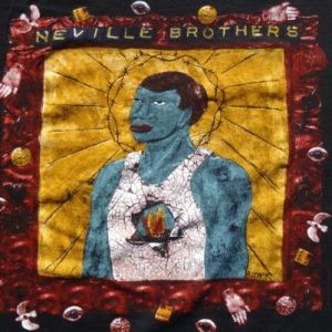 Vintage 1990 Neville Brothers Brothers Keeper Black T-Shirt