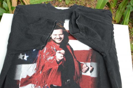 Vintage 1993 Travis Tritt Black Concert T-Shirt XL