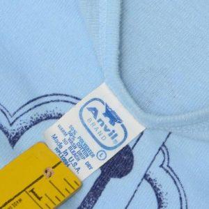 Vintage 1970s Dallas Texas Light Blue Tourist T ShirtS/M