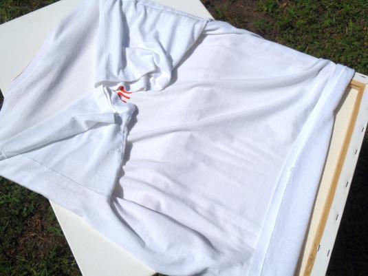 Vintage 1995 Budweiser Merrimack Brewery White T Shirt L