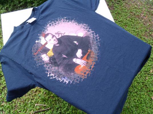 Vintage 1998 Savage Garden Tour Navy Blue Cotton T-Shirt L