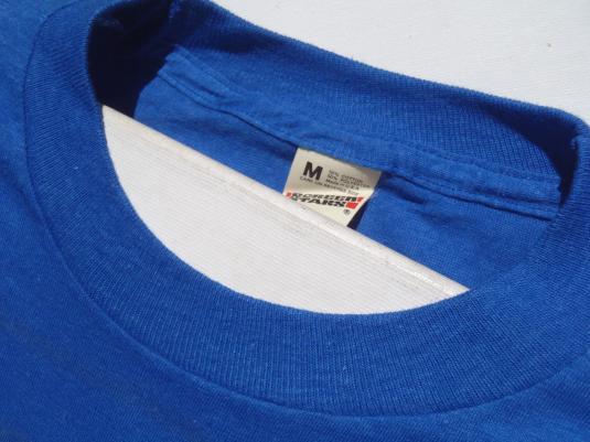 Vintage 1980s Blue Gould Electronics T-Shirt S/M