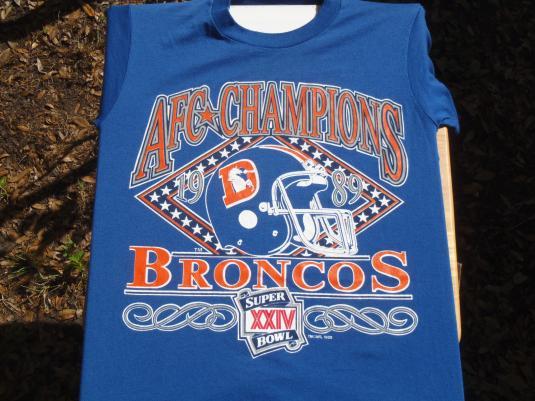 Vintage 1989 Denver Broncos T-Shirt M