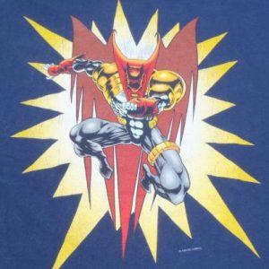Vintage 1990s Azrael Red Knightfall Batman Cotton T-Shirt XL