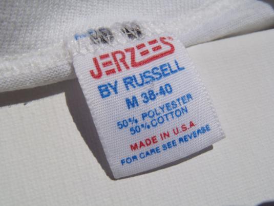 "Vintage 1980s ""Zoo Run"" T Shirt M"