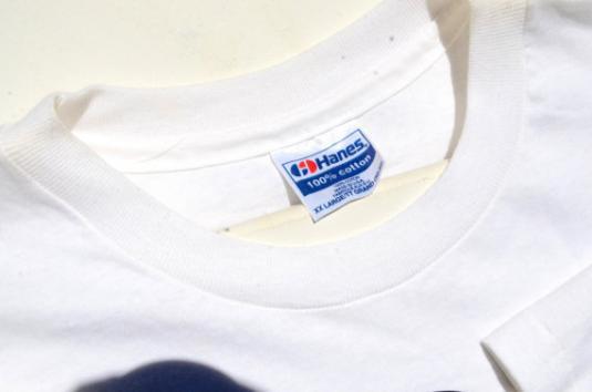 Vintage 1990s Aaron Tippin Concert White T Shirt XXL