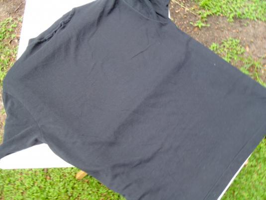 Vintage 1980s Calle Ocho Miami Florida Black T-Shirt L