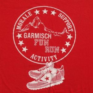 Vintage 1980s Garmisch Fun Run T-Shirt L