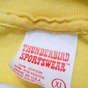 Vintage 1980s Caesar's Palace Vegas Slots Yellow T-Shirt L/XL