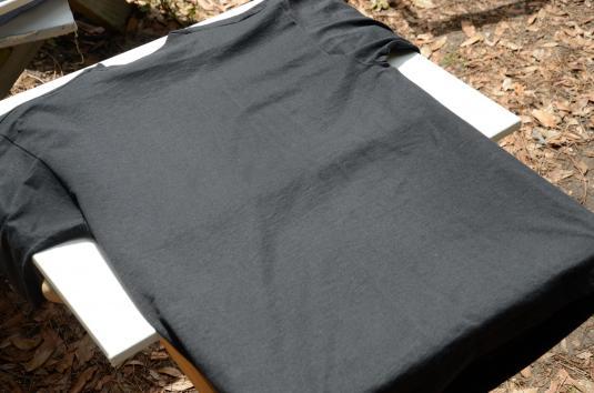 Vintage 1992 St Mary Magdelen Space Shuttle Black T Shirt L