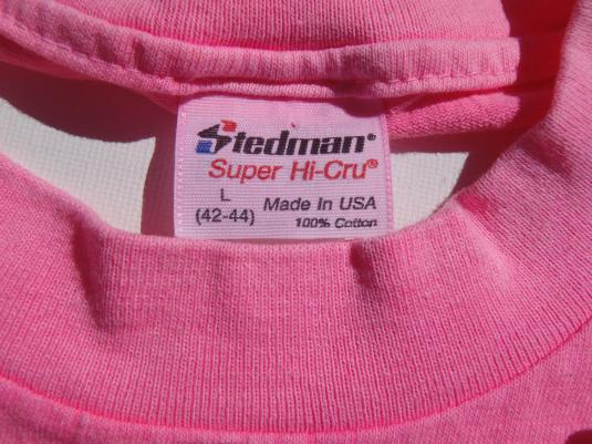 Vintage 1990s Acid Washed Fort Myers FL Souvenir T Shirt L