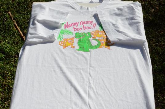 Vintage 1990s Joe Scruggs White Autographed T Shirt L
