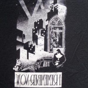 Vintage 1980s Queensryche Operation Mindcrime Black T-Shirt