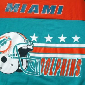 Vintage 1980s Miami Dolphins NFL Football Oversized Sweatshirt XL