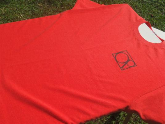 Vintage 1980s Ocean Pacific OP The Art of Surf Red T-Shirt L
