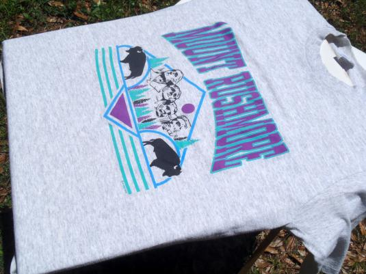Vintage 1990s Mount Rushmore Dakota T-Shirt L Jerzees