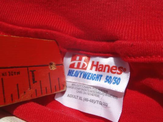 Vintage 1990s Harry Lee Coe Political Campaign T-Shirt XL
