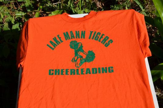Vintage 1990s Lake Mann Cheerleaders T-Shirt S/M