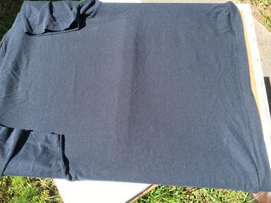 Vintage 1980s Silver Surfer Black T-Shirt S/M Screen Stars