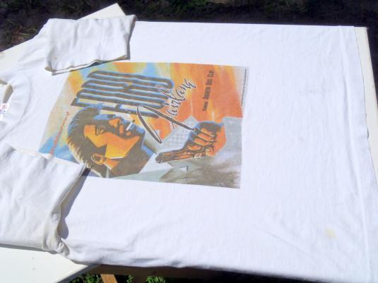 Vintage 1980s White Ford Fairlaine Movie Cotton T-Shirt M