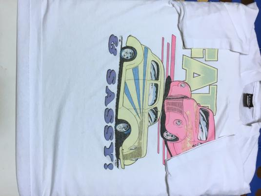 Vintage 1980s Ford Coupe Roadsters Fat Sassy Car T-Shirt M