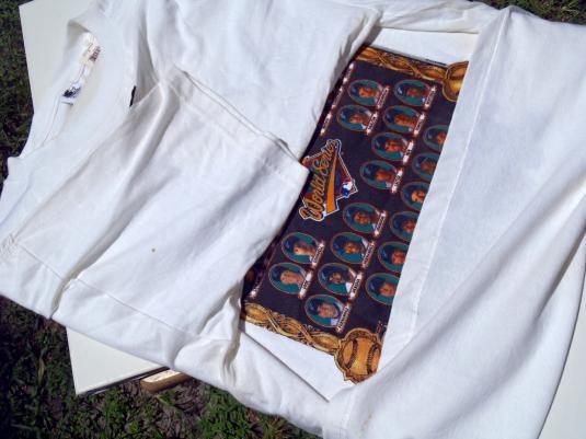 Vintage 1990s Florida Marlins World Series Champs T-Shirt XL