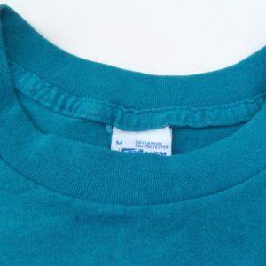 Vintage 1991 Aqua NBA All Star Weekend Charlotte T-Shirt M