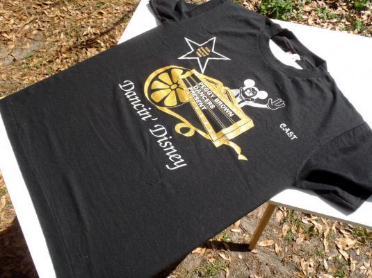 Vintage 1995 Black Dancing Disney Peggy Brown T Shirt S
