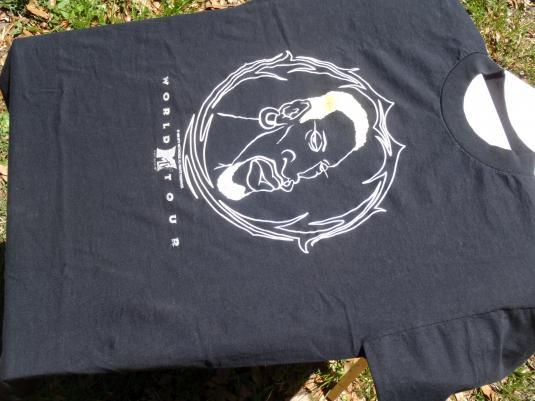 Vintage 1996 Dennis Rodman Color Change Black T-Shirt L/XL