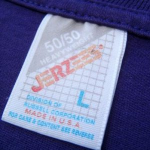 Vintage 1980s Pike Place Market Seattle Purple T-Shirt L