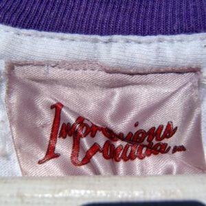 Vintage 1990s Winnipeg Purple Double Collar T-Shirt XL