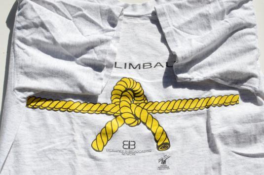 Vintage 1980s Rush Limbaugh Novelty Gray T-Shirt XL