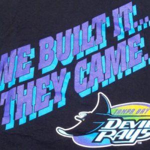 Vintage 1990s Tampa Bay Devil Rays Baseball MLB T Shirt XL