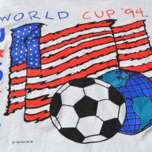 Vintage 1994 World Cup Orlando Soccer White T-Shirt XL