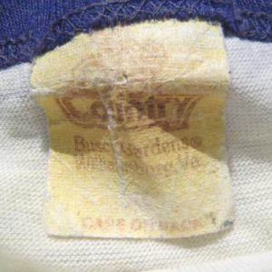 Vintage 1980s Busch Gardens Virginia Cream Ringer T Shirt XL