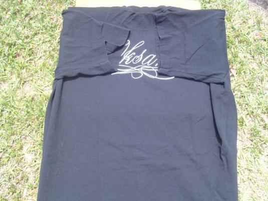 Vintage 1990s Oksana Baiul Black T Shirt L