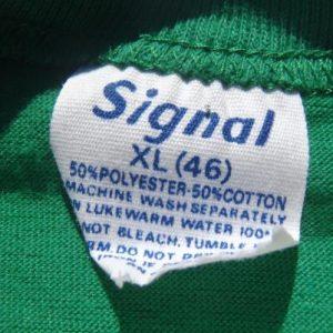 Vintage 1980s Sprite 5Km Sprints Green T-Shirt L Signal