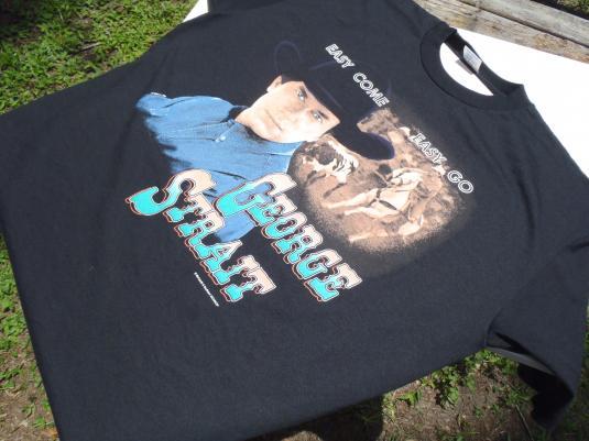 Vintage 1993 George Strait Easy Come Easy Go Tour T-Shirt XL