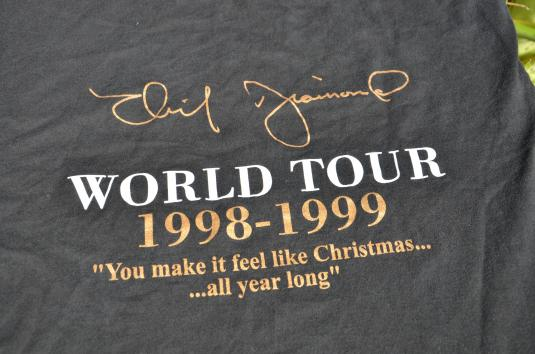 Vintage 1998/99 Neil Diamond With Love Tour T-Shirt XL