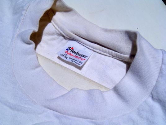 Vintage 1980s White Married With Children Cotton T Shirt L